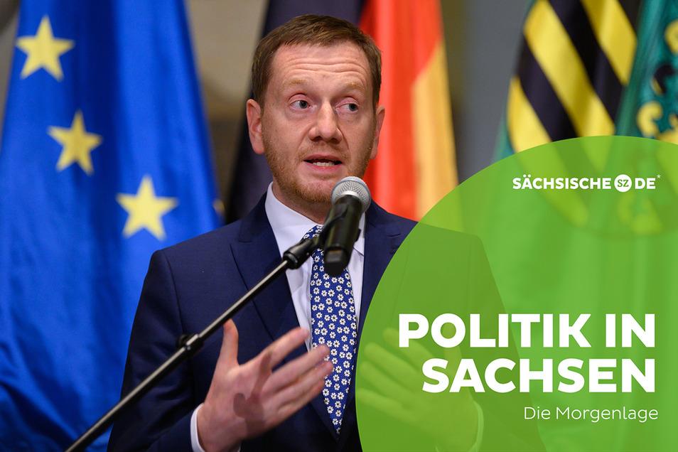 Michael Kretschmer, Ministerpräsident von Sachsen