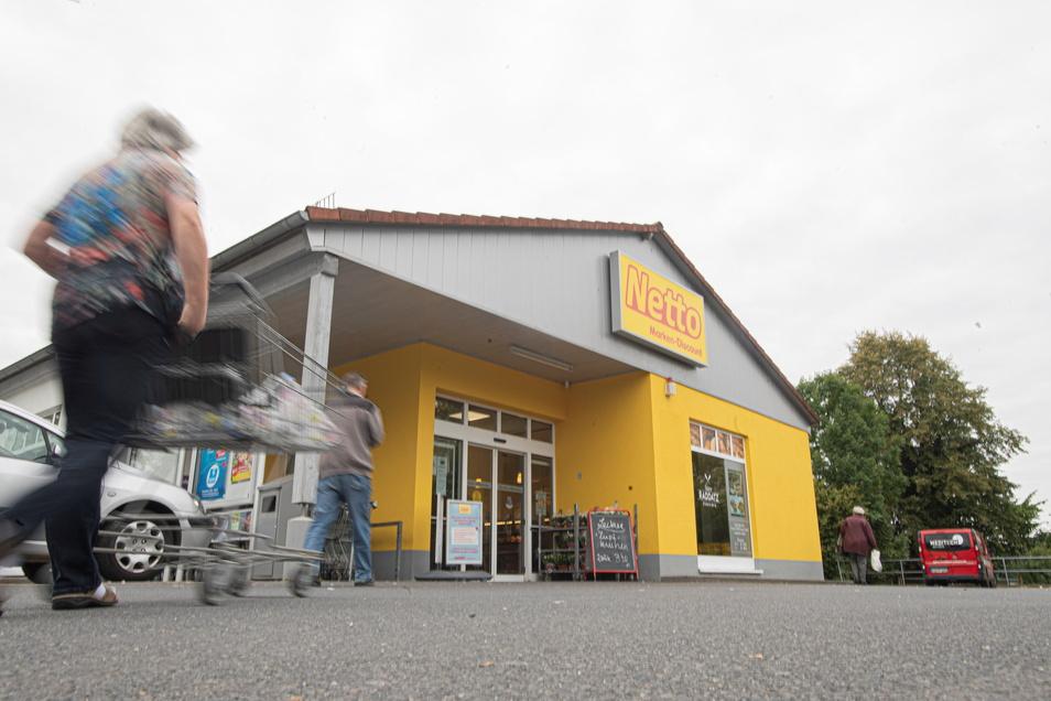 Zu klein und nicht mehr zeitgemäß ist der Netto-Einkaufsmarkt aus Sicht der Handelskette an der Bischofswerdaer Straße in Pulsnitz.. Ein Neubau soll gleich nebenan auf einer Industriebrache entstehen.
