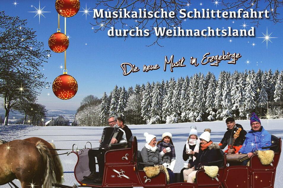 Auf eine musikalische Tour durchs Erzgebirge machen sich die Bimmelbahn-Musikanten, auch wenn das derzeit schwierig ist.