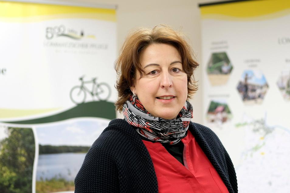 Anett Scheffler arbeitet seit Anfang dieses Jahres im Team des Regionalmanagements Lommatzscher Pflege.