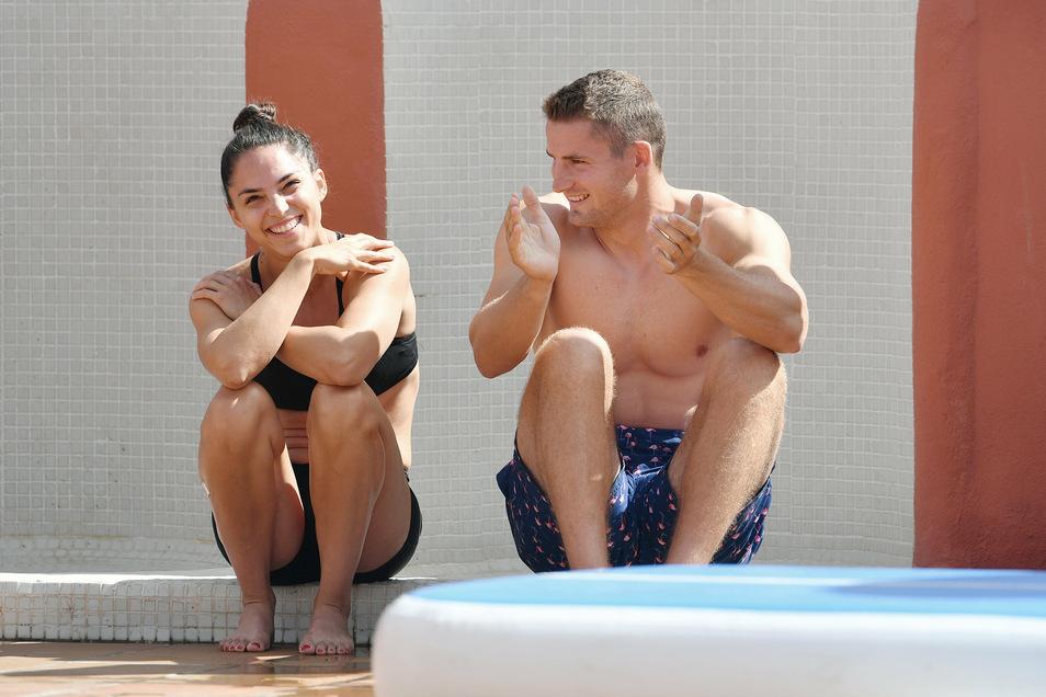 Kanu-Olympiasieger Tom Liebscher war mit seiner ungarischen Freundin, ebenfalls Kanutin, nach Spanien geflogen.