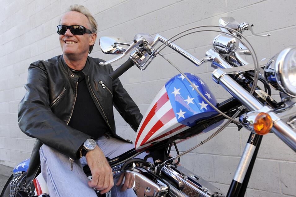 Peter Fonda im Jahr 2009. Er starb am Freitag an den Folgen von Lungenkrebs.