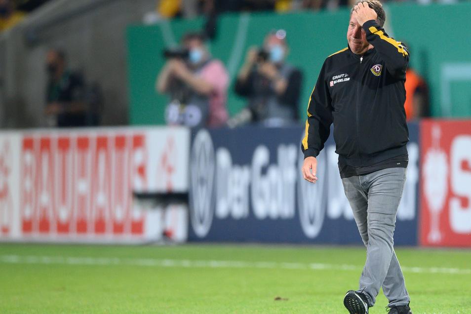 Etwas nachdenklich wirkte Markus Kauczinski nach dem Pokalsieg gegen den HSV. Dachte er schon an die schwere Aufgabe zum Drittliga-Auftakt?