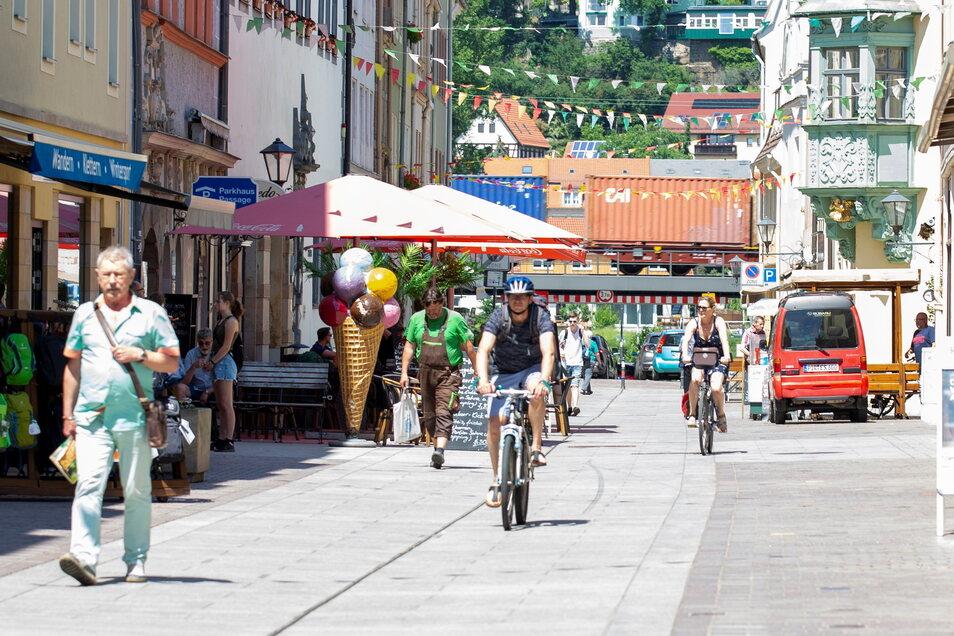 Am Sonnabend wird es neben länger geöffneten Geschäften viel Musik und Kultur in der Pirnaer Innenstadt geben.