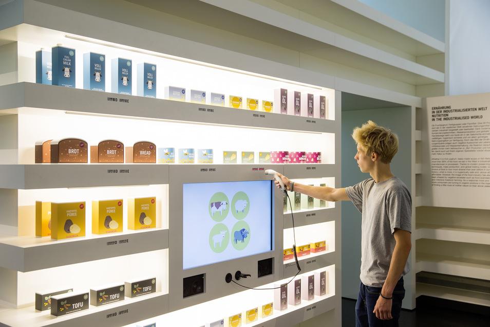 Die Dauerausstellung bietet viele interaktive Stationen.
