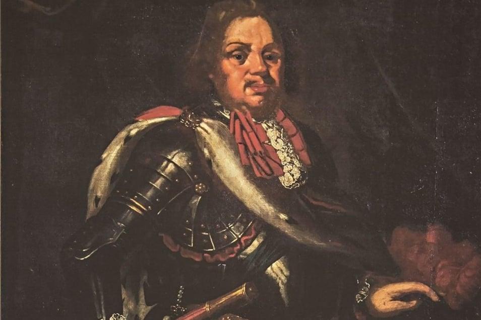 Kurfürst Johann Georg III. förderte die Karierre von Johann von Schadowitz.