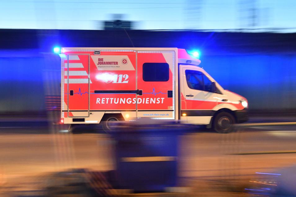 Kurz vor 23 Uhr wurden die Rettungskräfte zur Heideschanze gerufen.