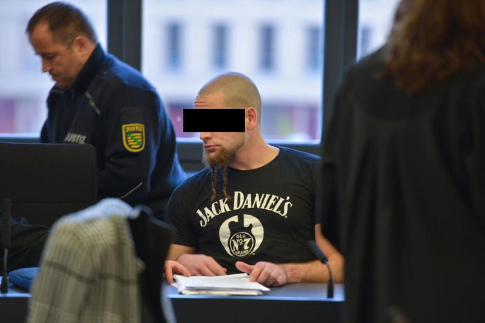 Benjamin Z., der mutmaßliche Anführer der Gruppe, kritisierte in seinem letzten Wort vor Gericht den Übereifer der Ermittler.