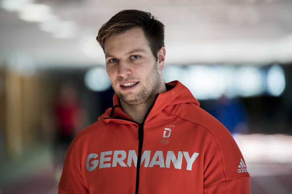 Nico Walther gehört nach seinem Trainingssturz wieder fest zum deutschen Bob-Weltcup-Team.
