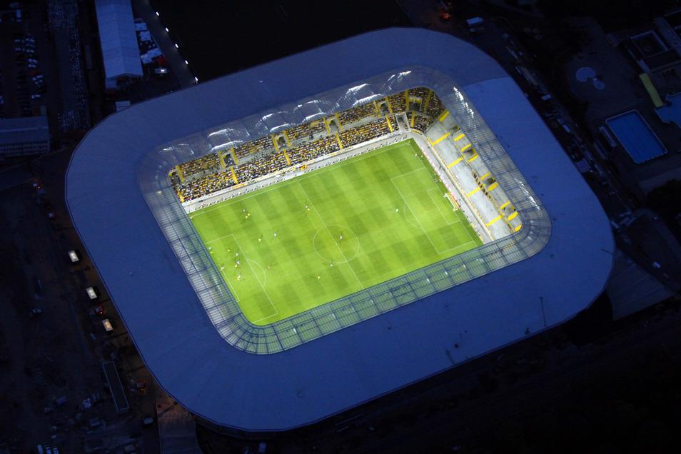 Beliebt bei den Fans: Das Dresdner Rudolf-Harbig-Stadion.