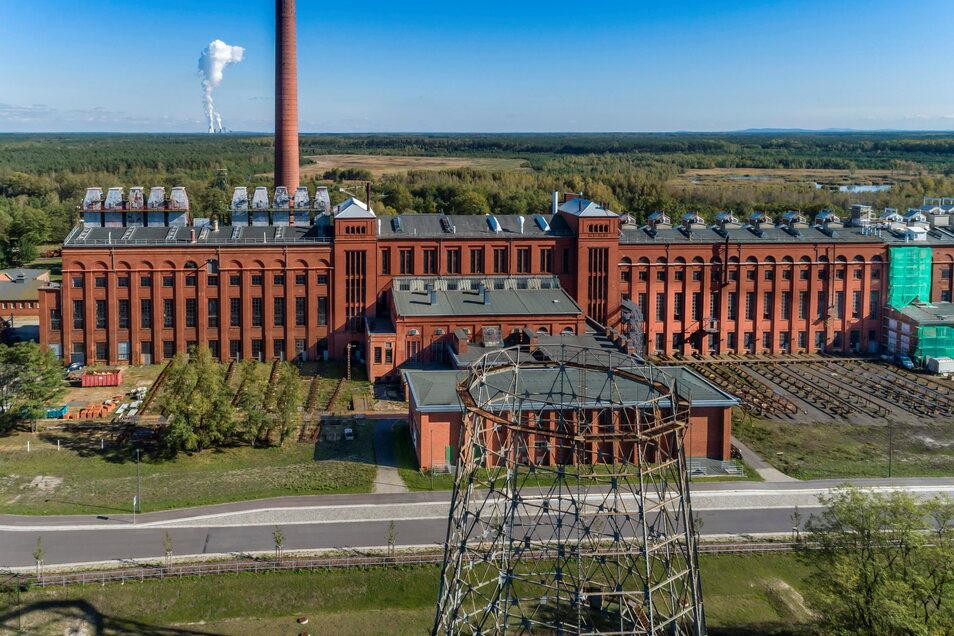 In der Energiefabrik Knappenrode bei Hoyerswerda könnte die Zukunftsfabrik Lausitz einziehen, sollte die Idee für ein Großforschungszentrum den Zuschlag bekommen.