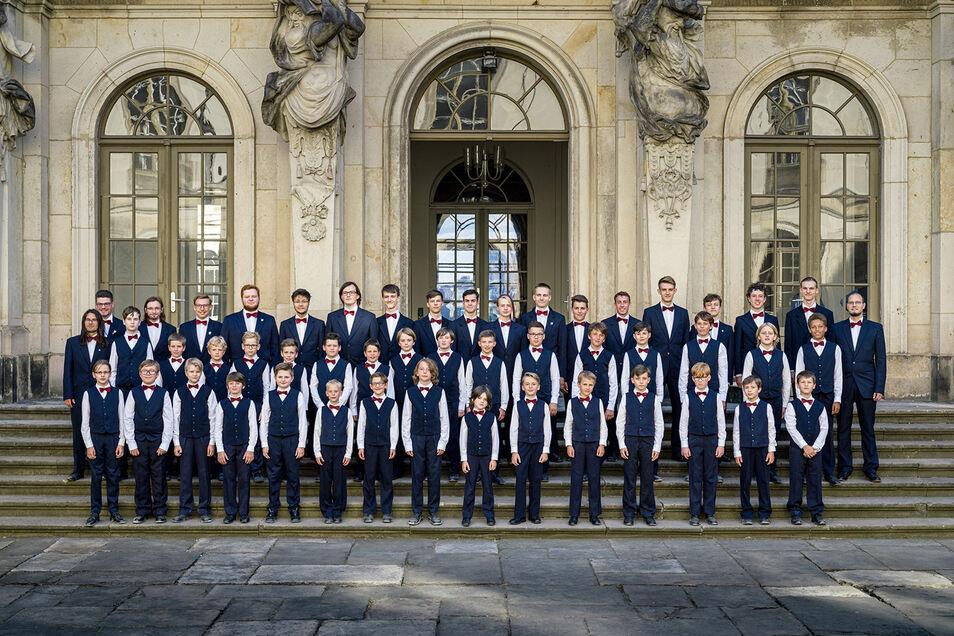 Sie geben das Abschlusskonzert der Neuen Burgfestspiele - der Knabenchor Dresden am 27. Juni.