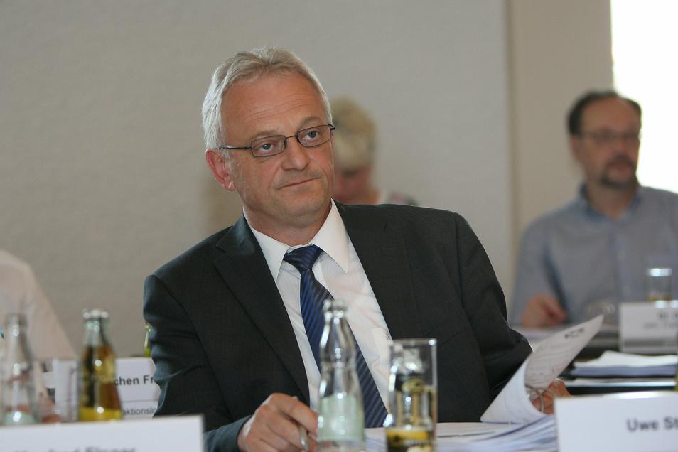 Stolpens Bürgermeister Uwe Steglich (FDP) ist mit Corona infiziert.