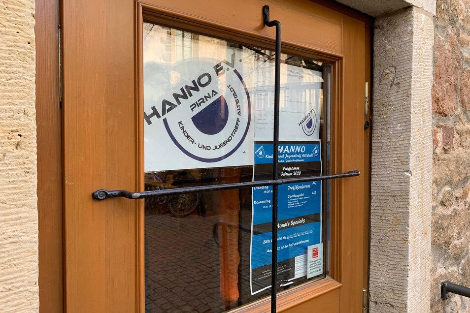Der Altstadt-Jugendtreff in Pirna des Trägervereins Hanno hat zu. Dennoch finden die Jugendlichen Ansprechpartner.