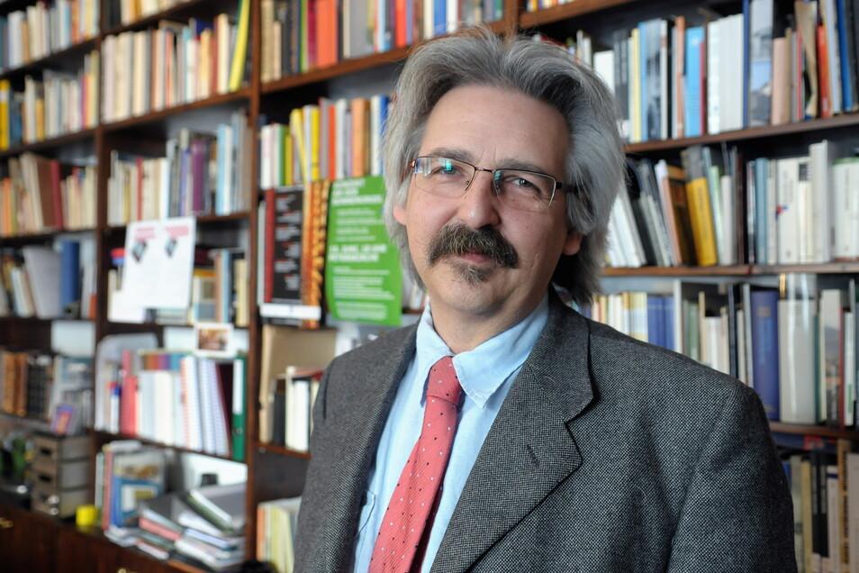 Prof. Matthias Theodor Vogt (Archivfoto) ist Chef des Institutes für kulturelle Infrastruktur Sachsen.