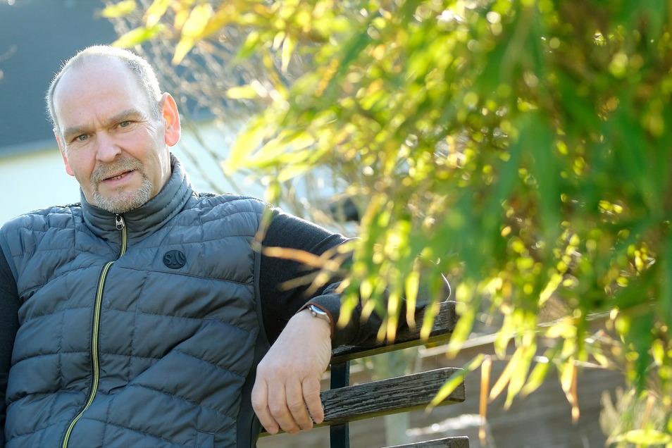 Nach neun Monaten wieder im Amt: Niederaus Bürgermeister Steffen Sang.