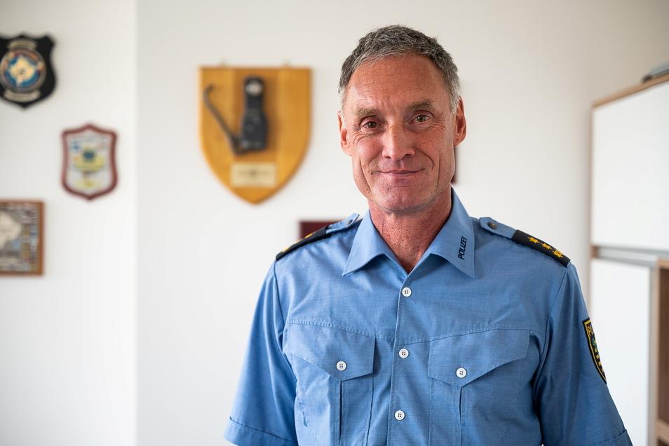 Sven Mewes, Leiter des Führungsstabes der Polizei in Görlitz heute: Bereut hat er seinen Einsatz in Afghanistan nicht.