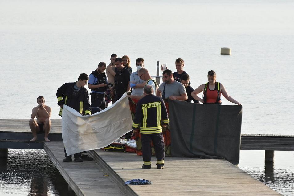 Im Juni gab es einen tragischen Badeunfall an der Blauen Lagune. Die Retter kämpften vergeblich um das Leben eines 19-Jährigen.