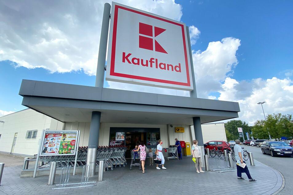 Der Kaufland-Markt in Ebersbach.