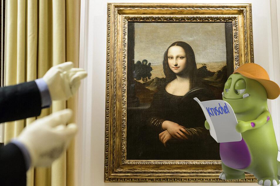 "Das Gemälde ""Mona Lisa"" von Leonardo da Vinci ist weltberühmt."