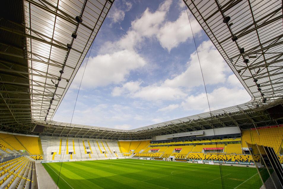 Dynamo muss für die Miete fürs Rudolf-Harbig-Stadionüberdurchschnittlich viel zahlen.