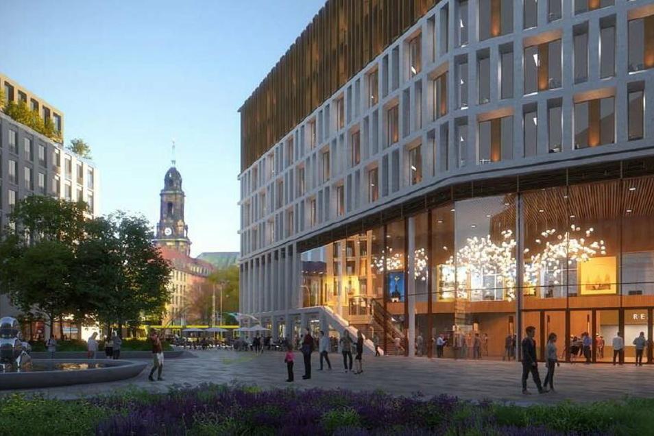 Das ist der Siegerentwurf für das neue Verwaltungszentrum am Ferdinandplatz.