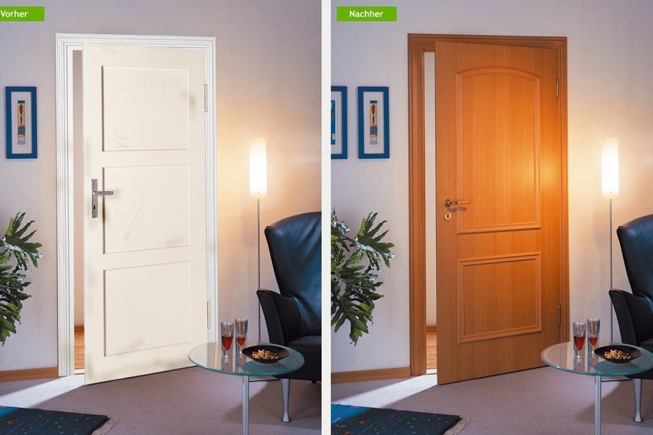 Auch Türen zählen zu den Steckenpferden des Renovierungsunternehmens. Denn mit der angeschlossenen Tischlerei ist keine Renovierung ein Problem.