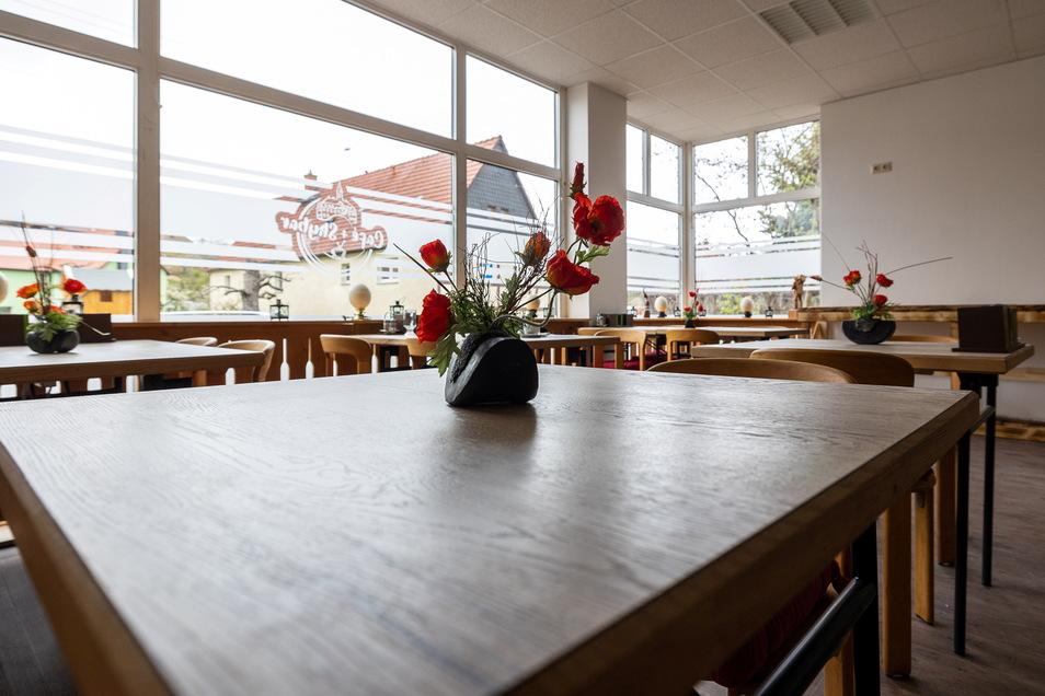 Zum neuen Laden gehört auch ein Café, dass Mariano Böhme öffnen möchte, sobald es die Situation zulässt.