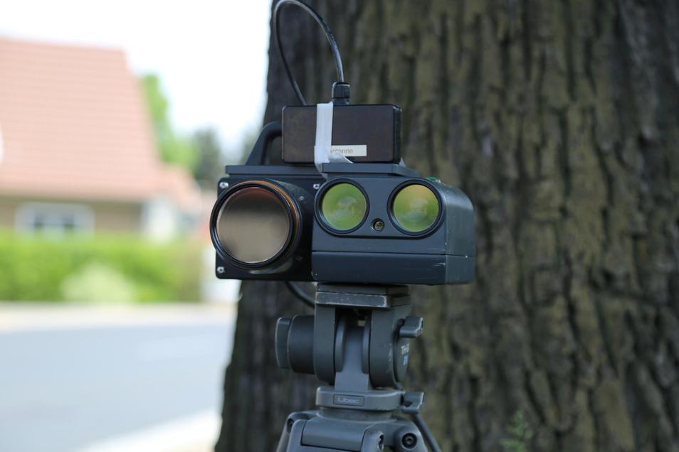 Achtung mobiler Blitzer: Auch in Schönau-Berzdorf hat die Polizei vor einigen Tagen geblitzt.