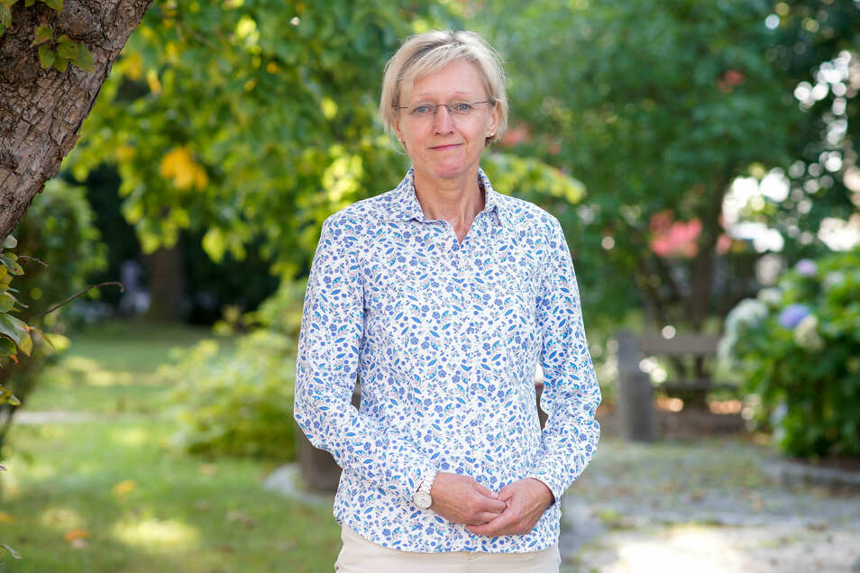 Kathrin Gessel (CDU / Bürgerbewegung) ist neue Bürgermeisterin in Steinigtwolmsdorf.