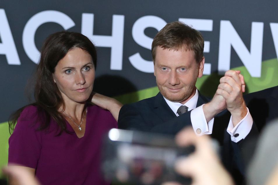 Michael Kretschmer hat mit seiner CDU nicht nur sachsenweit den Spitzenplatz behalten können, sondern er gewann auch seinen Wahlkreis in Görlitz.