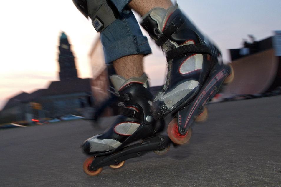 Ab 21 Uhr rollen die Skater aus der Landeshauptstadt.