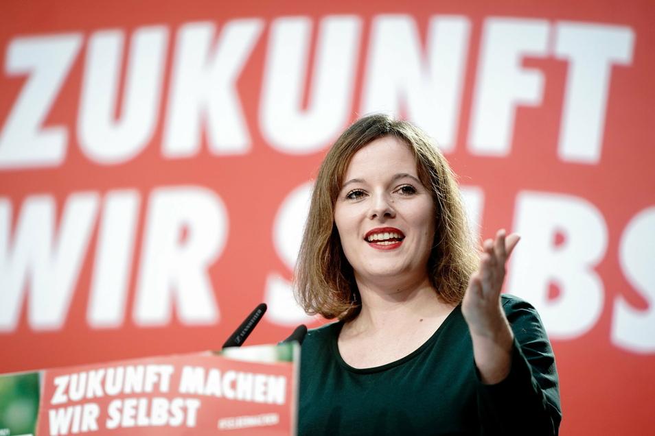 Jessica Rosenthal wurde mit 77,8 Prozent der Delegiertenstimmen zur Vorsitzenden der SPD-Parteijugend gewählt.