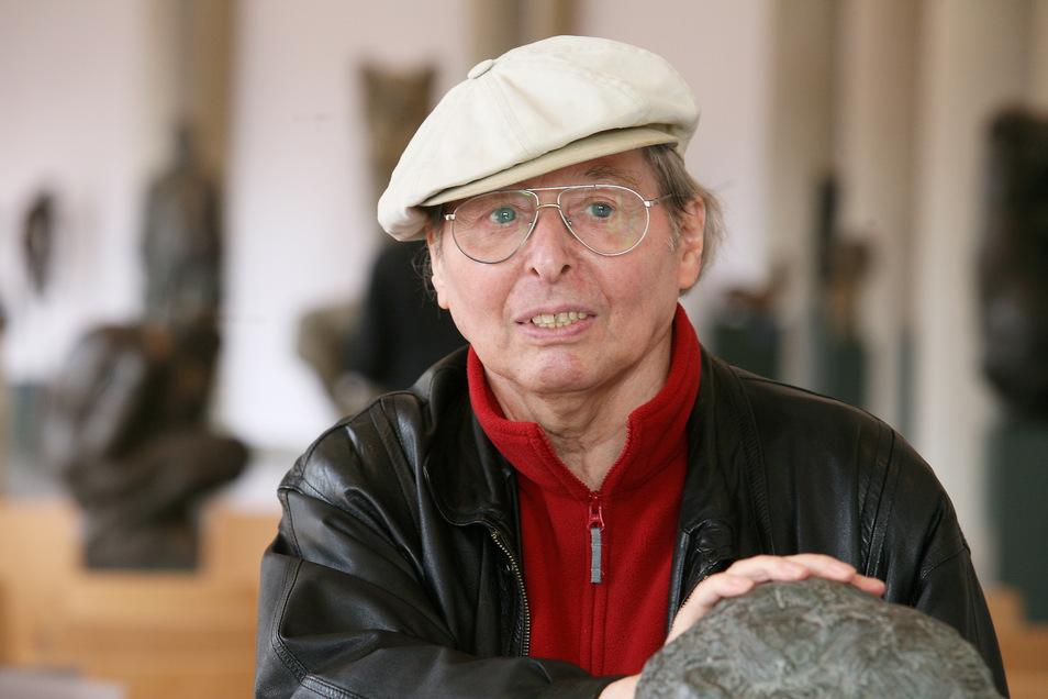 Wieland Förster wurde 1930 in Dresden-Laubegast geboren. Er erlebte in der Stadt auch finstere Stunden.