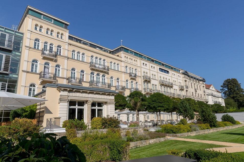 Hotel Elbresidenz an der Therme Bad Schandau: das einzige Fünf-Sterne-Hotel der Sächsischen Schweiz.