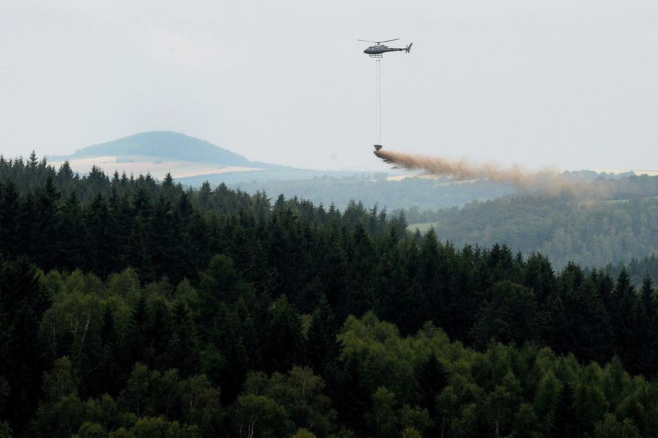 Solche Aktionen wird man in den kommenden Wochen im Osterzgebirge sehen können.