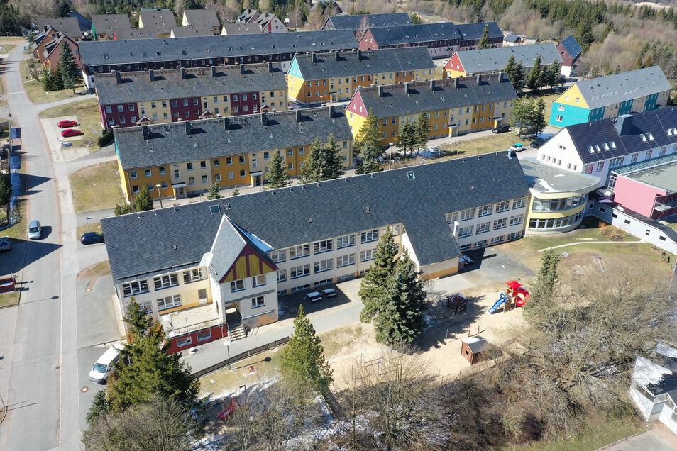 Die Altenberger Kindertagesstätte hat trotz Corona-Krise geöffnet.