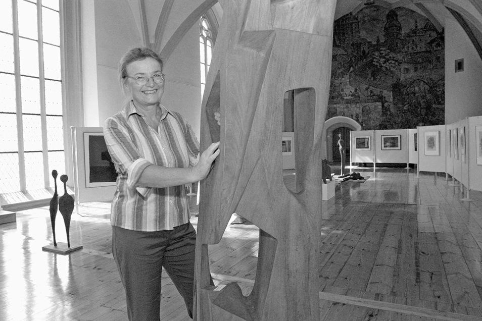 Inga Arnold-Geierhos leitete viele Jahre mit Begeisterung den Oberlausitzer Kunstverein.