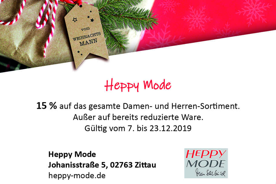 Heppy Mode, Johanisstraße 5, 02763 Zittau