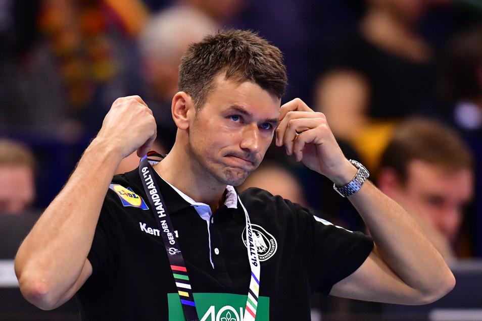 Nach dem verlorenen WM-Halbfinale Ende Januar 2019 zeigt Christian Prokop seine Enttäuschung über die Pleite gegen Norwegen. Ähnlich dürfte seine Reaktion nach dem Rauswurf durch den DHB aussehen.