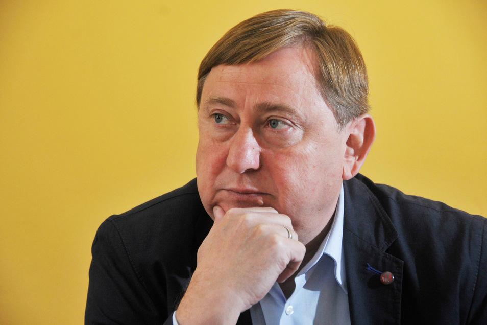 Der sächsische Linkenpolitiker André Hahn ist seit 2013 Bundestagsabgeordneter.