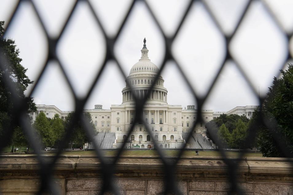 Das Gelände rund um den Kongresssitz wurde vorsorglich abgeriegelt.
