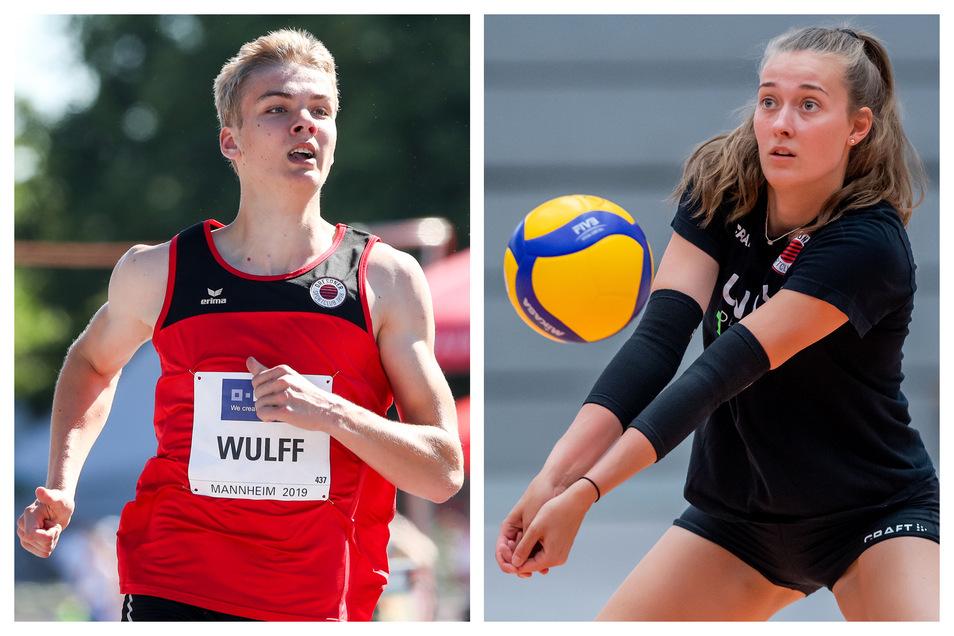 Leichtathlet Simon Wulff und Volleyballerin Sarah Straube müssen wegen der Corona-Pandemie auf ihre internationalen Saison-Höhepunkte verzichten.