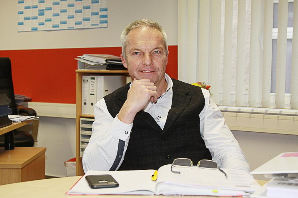 Der Ostrauer Bürgermeister Dirk Schilling (CDU) im Gespräch mit Sächsische.de zum Ergebnis seiner Partei zur Bundestagswahl, den Fehlern und den Perspektiven.