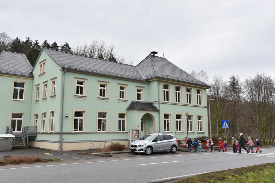 Auch im Kindergarten Schlottwitz sind fast alle Plätze belegt.