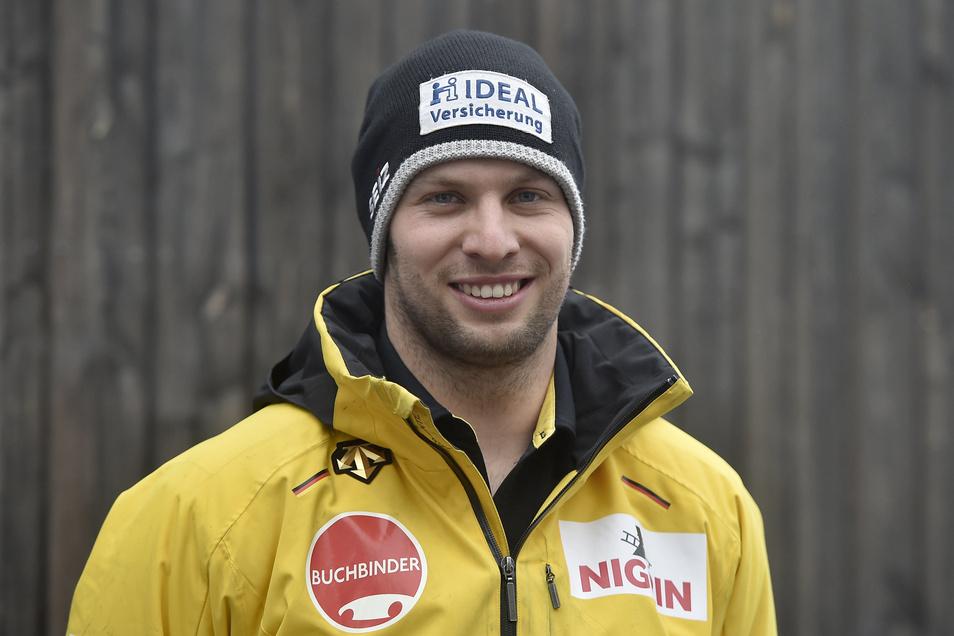Nico Walther kennt die Bahn in Altenberg wie kaum ein anderer. Gute Voraussetzungen für die erste Goldmedaille bei einer WM.