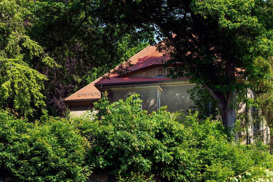 Villa am Burggäßchen in Sebnitz: Das Dach ist schon gemacht.