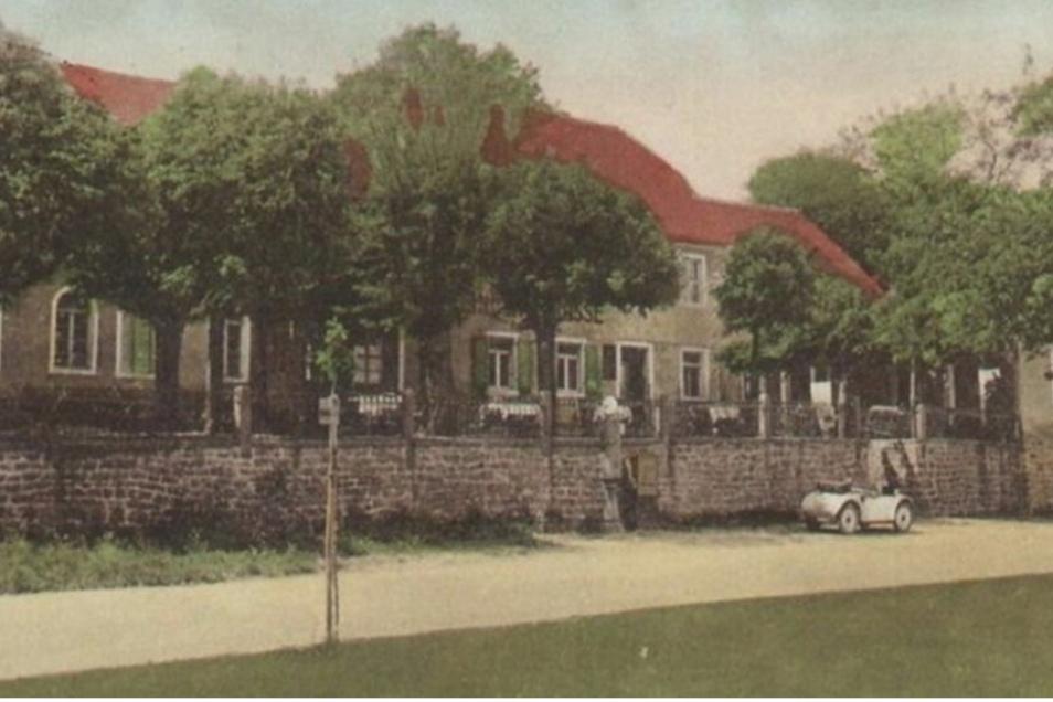 """Bis 1973 war die """"Lindenterrasse"""" in Kamenz eine sehr beliebte Ausflugsgaststätte."""