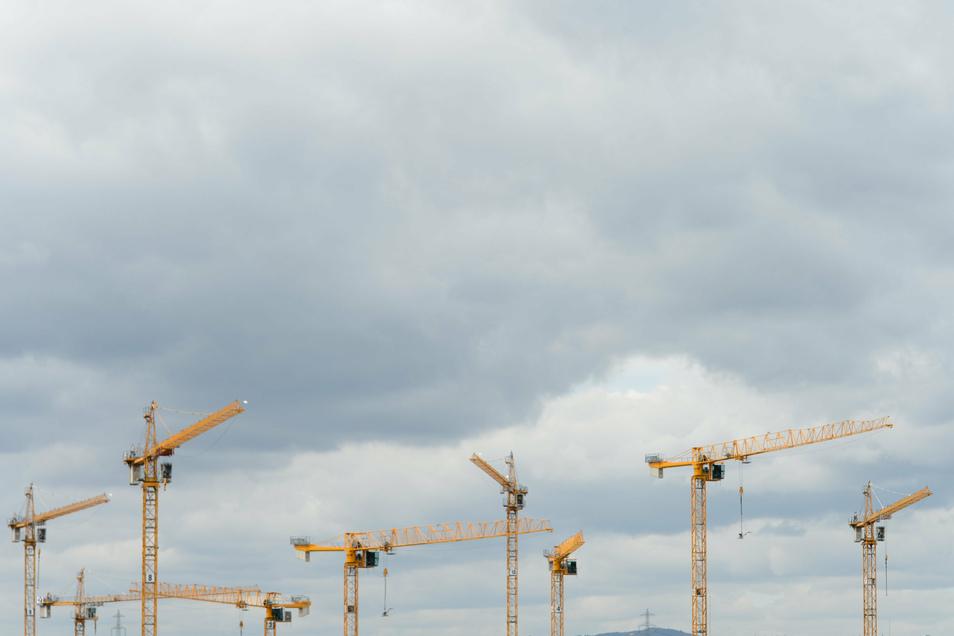 Die Zahl von Baugenehmigungen ist zuletzt stark gestiegen.