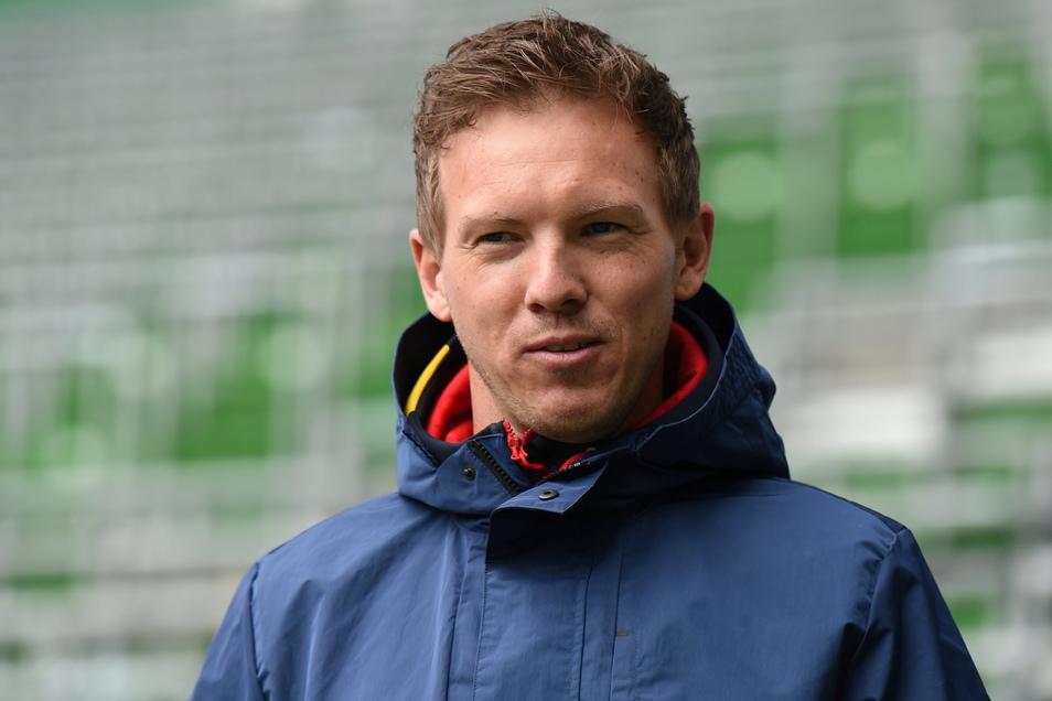 Hofft auf einen kleinen psychologischen Vorteil durch das Freitagabendspiel gegen seinen Ex-Klub Hoffenheim: RB-Coach Julian Nagelsmann.
